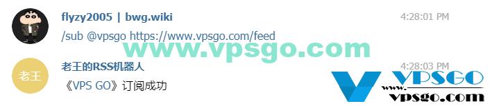 Telegram频道RSS订阅