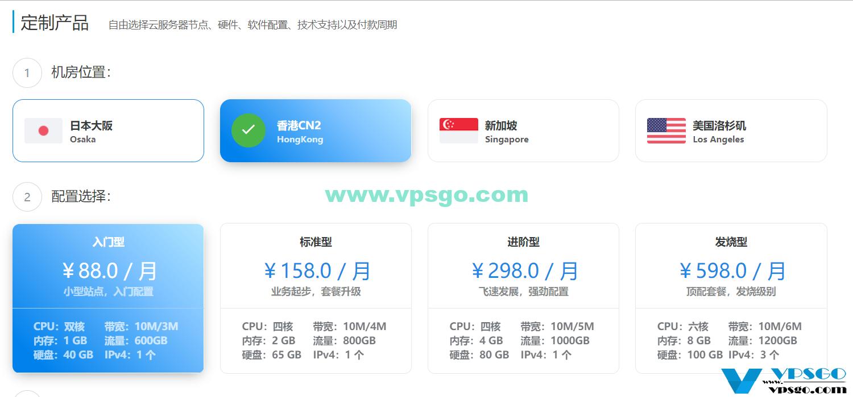 景文互联香港CN2