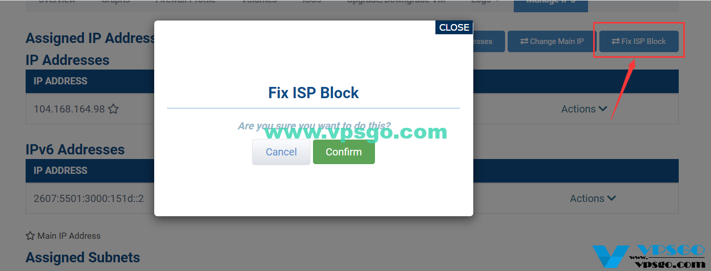 Hostwinds免费更换IP