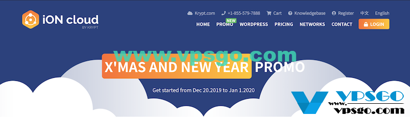 KRYPT-ION 圣诞新年优惠