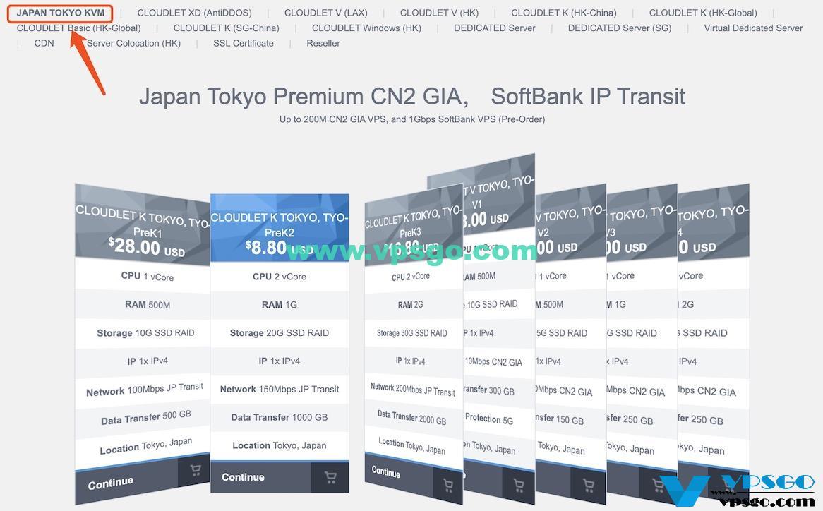 GigsGigsCloud日本东京软银VPS预售优惠