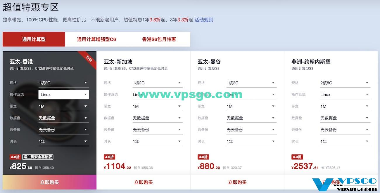 华为云618年中钜惠-海外服务器专场老用户优惠