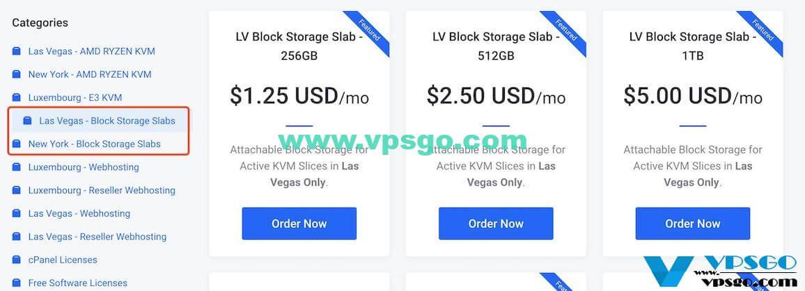 BuyVM Block Storage Slab
