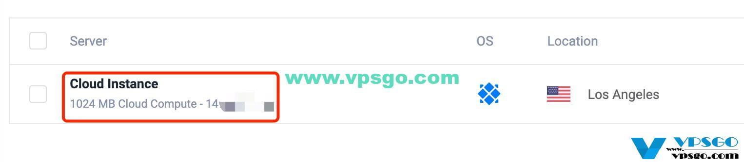 Vultr SSH连接信息